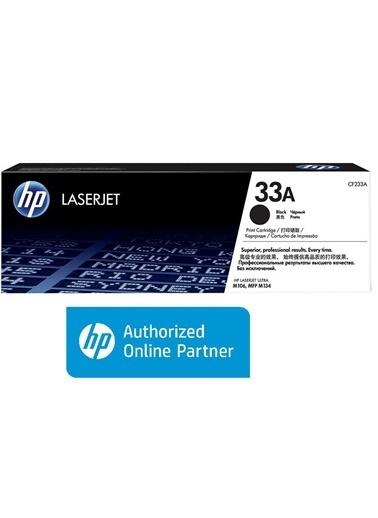 HP HP CF233A 33A Siyah Orijinal LaserJet Toner Kartuşu  Renkli